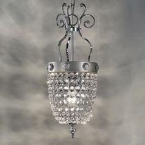 Lampada a sospensione / in stile / in cristallo / in metallo