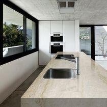 Piano di lavoro in quarzo composito / da cucina / antimacchia / antibatterico