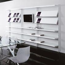 Libreria a muro / moderna / per ufficio / professionale