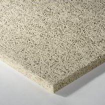 Pannello acustico per controsoffitto / per muro interno / in lana di legno / Euroclasse A2