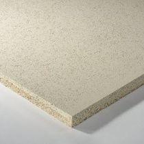 Pannello acustico per controsoffitto / per muro interno / in lana di legno / in lana minerale