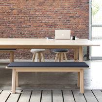 Tavolo da picnic moderno / in legno / rettangolare / professionale