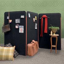 Paravento moderno / in tessuto / per ufficio / portatili