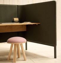 Scrivania per open space / in quercia / moderna / professionale