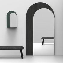 Specchio a muro / moderno / professionale