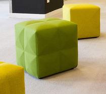 Pouf moderno / in tessuto / rettangolare / quadrato