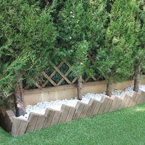 Cordolo da giardino / in calcestruzzo / altre forme