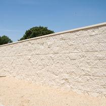 Blocco di calcestruzzo forato / per muro / per fondazione / per solaio