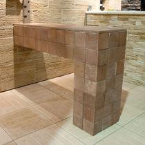 Lastra di paramento in pietra ricostituita / da interno / da esterno / a rilievo