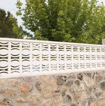 Schermatura in calcestruzzo prefabbricato / da giardino / per terrazza