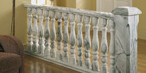 Balaustra in marmo / da esterno / per esterno