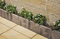 Bordura da giardino / in calcestruzzo / lineare