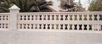 Balaustra in calcestruzzo / a pannello / da esterno / per balcone