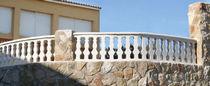 Balaustra in pietra ricostituita / da esterno / per balcone / per esterno
