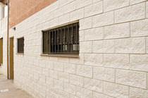 Lastra di paramento in calcestruzzo / per esterni / indoor / aspetto pietra