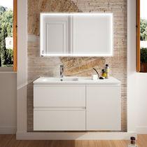 Mobile lavabo da appoggio / in legno / classico / in kit - BOHEME ...