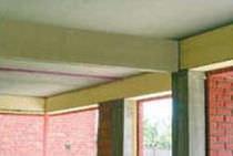 Isolante termo-acustico / in polistirene estruso / per muro / in pannello rigido