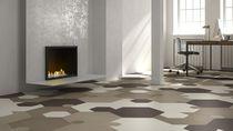 Piastrella esagonale / da pavimento / per pavimento / in gres porcellanato