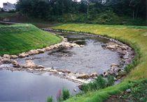 Gabbione materasso / di protezione / per le rive dei fiumi / in acciaio galvanizzato
