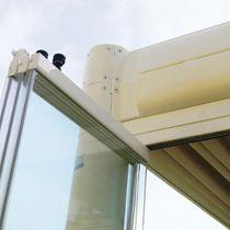 Parete pieghevole / in alluminio / vetrata / ad uso professionale