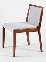 Sedia moderna / imbottita / in legno / professionale