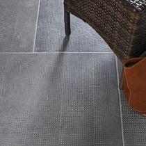 Piastrella da interno / da pavimento / in calcestruzzo / colorata