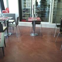 Pavimento in calcestruzzo / aspetto cemento / ad alta resistenza