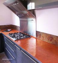 Piano di lavoro in calcestruzzo / da cucina