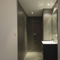 Pavimento in calcestruzzo / cerato / aspetto cemento / ad alta resistenza