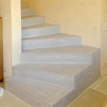 Intonaco decorativo / da pavimento / a base di cemento / a effetto cemento