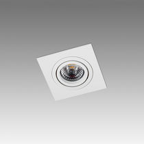 Faretti a binario LED / quadrata / in metallo / professionale