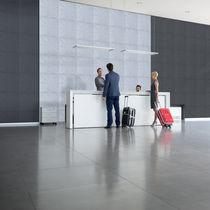 Pannello acustico per interni / per soffitto / per muro / in tessuto
