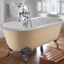 Vasca da bagno su piedi / ovale / in ghisa / doppia