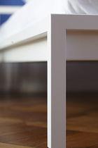 Letto standard / doppio / moderno / in acciaio inox