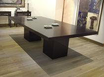 Tavolo da riunione moderno / in quercia / rettangolare / per ufficio
