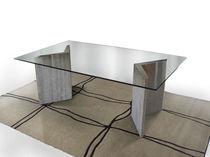 Tavolo moderno / in marmo / rettangolare