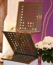 Sedia design originale / in ferro / in legno