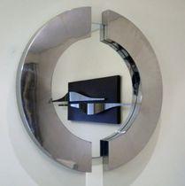 Specchio a muro / moderno / in metallo