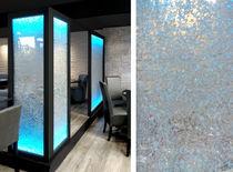 Pannello decorativo acrilico / per parete / retroilluminato