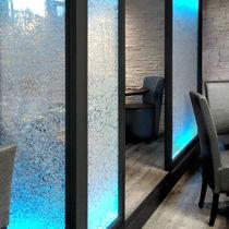 Pannello decorativo per parete / acrilico / retroilluminato