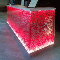 Pannello decorativo acrilico / per interni