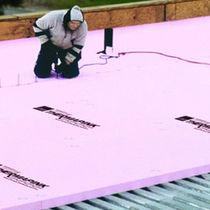 Isolante termico / in polistirene estruso / per tetto / in pannello