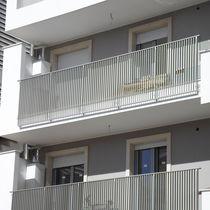 Ringhiera in alluminio / a sbarre / da esterno / per balcone