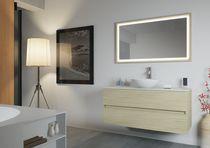Lavabo da appoggio / rotondo / in Solid Surface / moderno