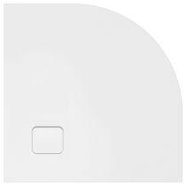 Piatto doccia d'angolo / in acrilico / ultrapiatto / antiscivolo