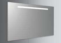 Specchio a muro / moderno / rettangolare / professionale