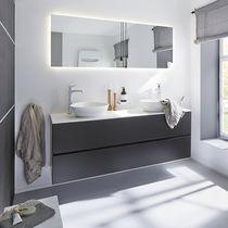 Specchio a muro / luminoso / moderno / rettangolare