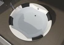 Vasca da bagno da incasso / rotonda / in acrilico