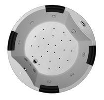 Vasca da bagno rotonda / in acrilico / idromassaggio
