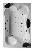 Vasca da bagno in acrilico / 4 posti / idromassaggio